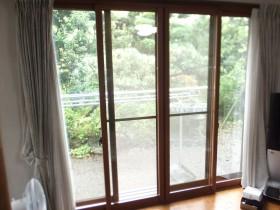 内窓(掃き出し窓)