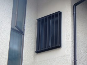 モルタル補修と外壁の塗装仕上げ後