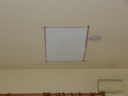 天井 下塗り