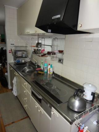 Ⅰ型壁付キッチン 八王子市 システムキッチンリフォーム