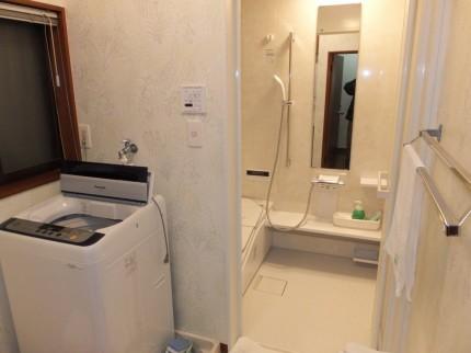 浴室脱衣所改装工事 八王子市