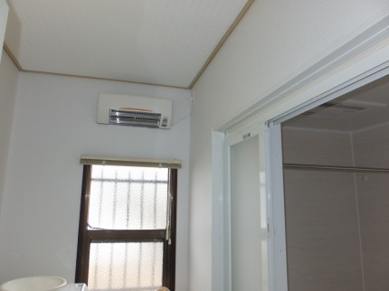 バス/洗面台/トイレリフォーム 脱衣室暖房機 八王子市
