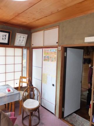 和室改装 天井壁改装工事