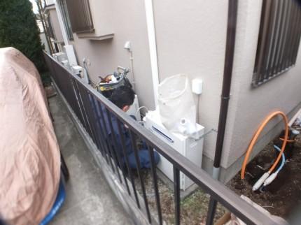 ガス給湯器交換作業