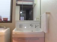 クリナップ ファンシオ 洗面化粧台リフォーム 施工後