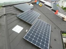 複合屋根 太陽光発電システム 3.75kw 上野原市