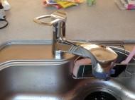 タカギ キッチン水栓交換 K87120JV-13