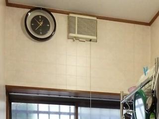 高須 SDG-1200GS 脱衣室暖房 施工前