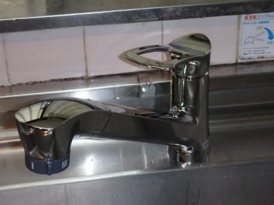 SANEI キッチン(台所)水栓交換工事 K87120JV