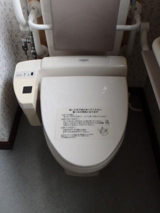 TOTO アプリコットF1A 温水洗浄便座(TCF4711AMV80P) 施工前