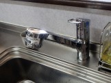 TOTO キッチン水栓交換 TKGG32EB 施工後