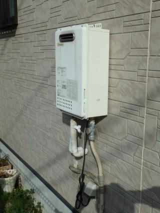 ガス給湯器交換 ノーリツ GQ-1639WS-13A 施工前