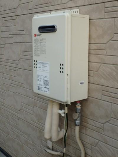 ガス給湯器交換 ノーリツ GQ-1639WS-13A 施工後