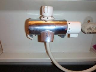 KVK KF800TN 浴室水栓金具交換 施工前