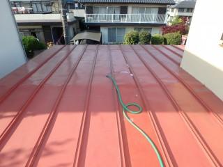 瓦棒屋根葺き替え工事(ガルバリウム鋼鈑)