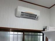 高須 SDG-1200GS 脱衣室暖房 施工後