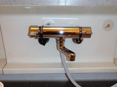 KVK KF800TN 浴室水栓金具交換 施工後