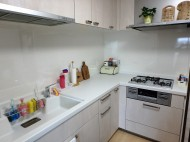パナソニック リビングステーション L型キッチン 施工後