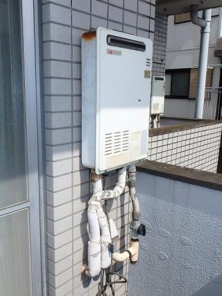 ノーリツ ガス給湯器 GQ-1639WS/13A 施工前