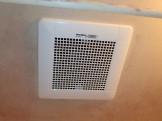 三菱 浴室換気扇交換工事 VD-13ZC9 施工後