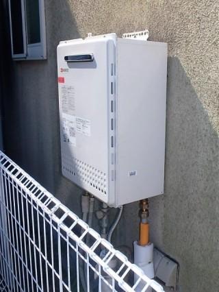 ノーリツ フルオート ガス給湯器交換工事 GT-C2452AWX-2BL-13A 施工前