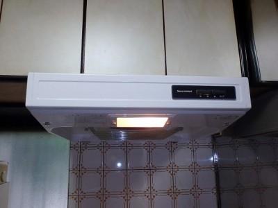 タカラ レンジフード交換 VT-602N 施工後