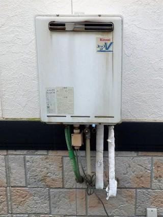 リンナイ ガス給湯器 RUF-E2005SAW-A-13A 施工前