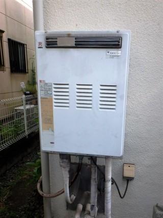 ノーリツ ガス給湯器交換 GT-C1652SAWX-2BL-13A 施工前