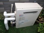 床置きタイプガス給湯器 ノーリツ GT-C2052ARX-2BL13A 施工後