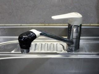 SANEI(三栄) キッチン水栓交換 K87120JV-13 施工前