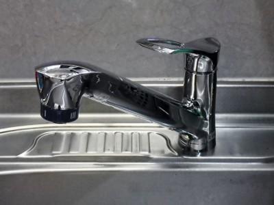 SANEI(三栄) キッチン水栓交換 K87120JV-13 施工後