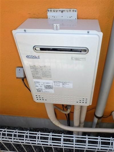 ノーリツ ガス給湯器 HCT-C2052SAWX-2BL13A エコジョーズ 施工後