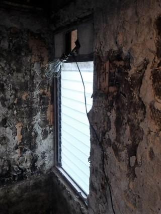 換気がしやすい引違の窓へ  施工前