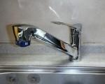 SANEI キッチン水栓リフォーム K87120JV-13 施工後