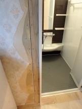 ドア枠のサイズ変更