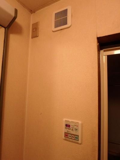 2室同時換気システム施工後