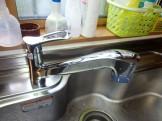 三栄水栓製作所 水栓交換 K87120JV-13 施工後