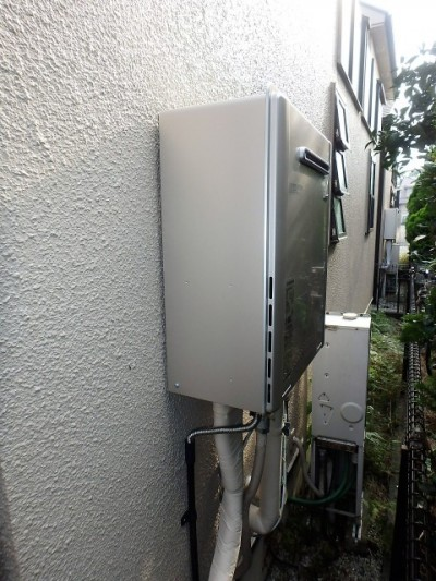 リンナイ RUF-E2405SAW(A)13A ガス給湯器リフォーム 施工後