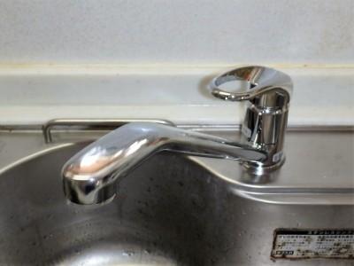 三栄 キッチン水栓 K87110JV 施工後