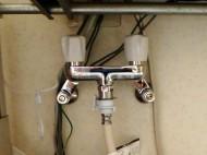 TOTO 洗濯機水栓交換 TW20-1R 施工後