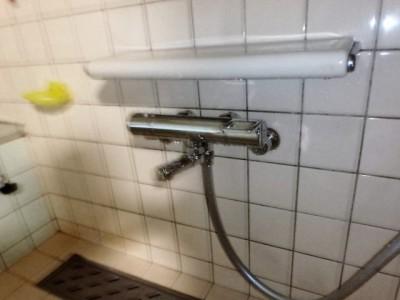 TOTO 浴室シャワー水栓 TMGG40SEW 施工後