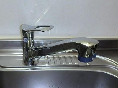 三栄 シャワー水栓 K87120JV-13 施工後