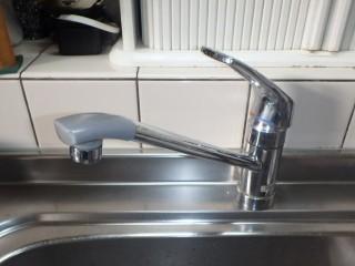 SANEI キッチン水栓 K87120JV-13 施工前
