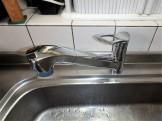 SANEI キッチン水栓 K87120JV-13 施工後