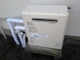 ノーリツ 置型ガス給湯器 GT-C2452SARX-2BL-LPG3 施工後