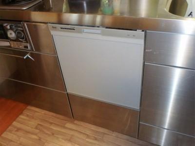 リンナイ ビルトイン食洗器 RWX-404A 施工後