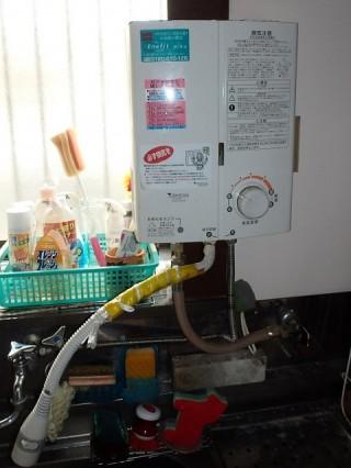瞬間ガス給湯器 リンナイ RUS-V51XT(SL)13A 施工前