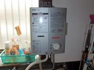 瞬間ガス給湯器 リンナイ RUS-V51XT(SL)13A 施工後