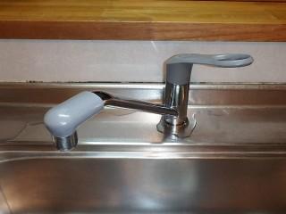 三栄 水栓交換 K87110JV-13 施工前