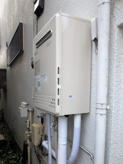 ノーリツ ガス給湯器 HCT-C2452SAWX-2BL13A 施工後